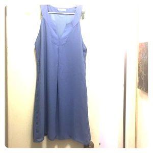 Periwinkle loose shift dress